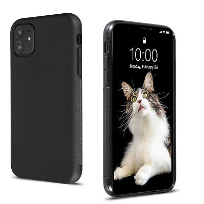 A BETTER MINIMALIST CASE for iPhone 11/Pro Max, Slim Fit Flexible Soft TPU