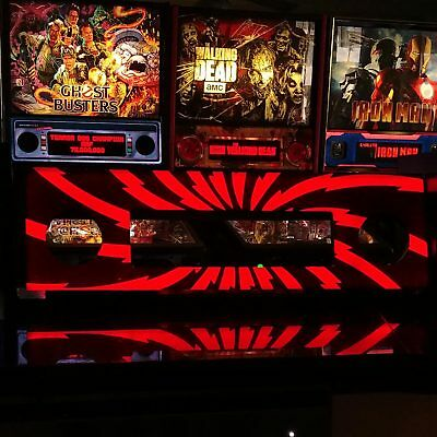 AC/DC LUCI Lighted Speaker Panel-Original Res. Art-Stern Pinball Machine LED Mod