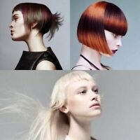 MODEL-creative cut and colour