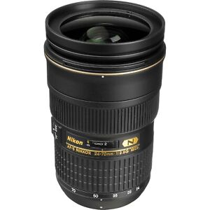 Nikon 24-70mm f2.8g ed lens in excellent condition