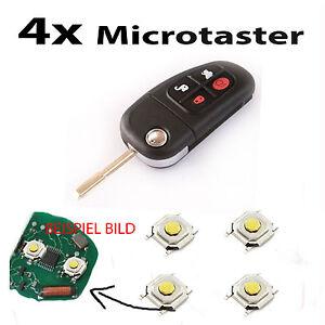 Für Jaguar x s xj type~ Schlüssel Funkschlüssel Fernbedienung Taster Mikrotaster