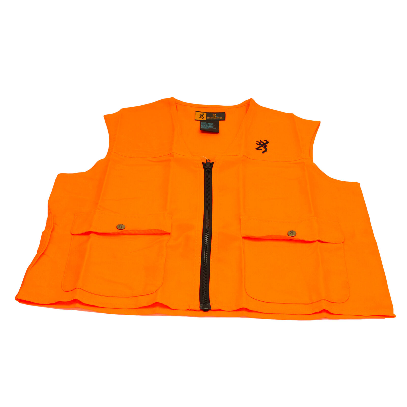Browning Safety Vest Blaze Orange X-Large