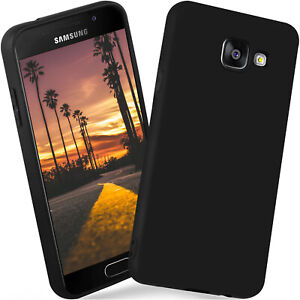 Silikon-Case-fur-Samsung-Galaxy-A3-2016-Schutz-Hulle-Matt-Sehr-Dunn-Back-Cover