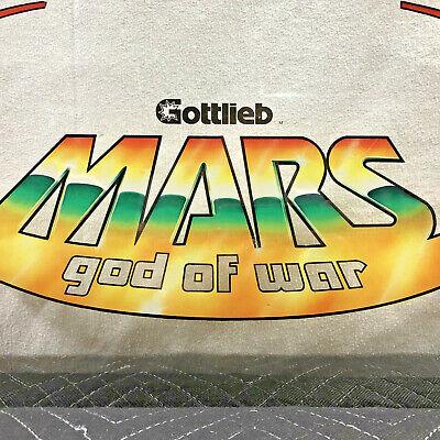 Mars God of War Pinball Machine Game Outer Mirror Backglass