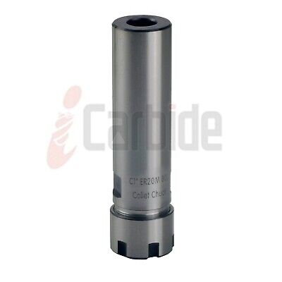 """New 1/"""" Straight Shank Tool Holder C1 ER40 100L Collet Chuck USA SELL"""