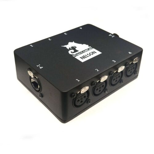 PhantomCat Snake System - 4ch etherCon to Male and Female XLR Breakout Box