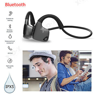 Wireless Bluetooth Bone Conduction Headphones Headset Sports IPX5 Earphones USA