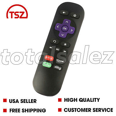 Tv Television Remote Control Clicker Changer For Roku Netflix Amazon Sling Hulu