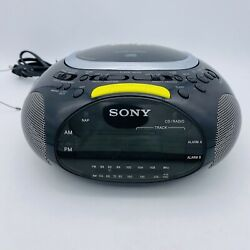Sony Psyc Dream Machine ICF-CD832: CD Player/AM FM Radio/Alarm Clock, Black