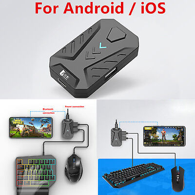 PUBG Mobile Gaming Keyboard Mouse Adapter Converter for Android Phone iPhone