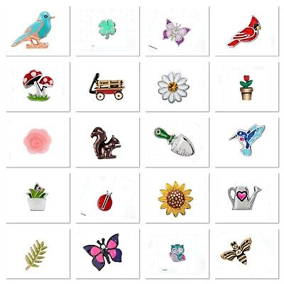 Authentic Origami Owl Charms NATURE GARDENING ANIMALS Combined Shipping