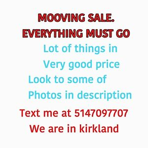 Moving Sale price. Everything must go.. look the photos
