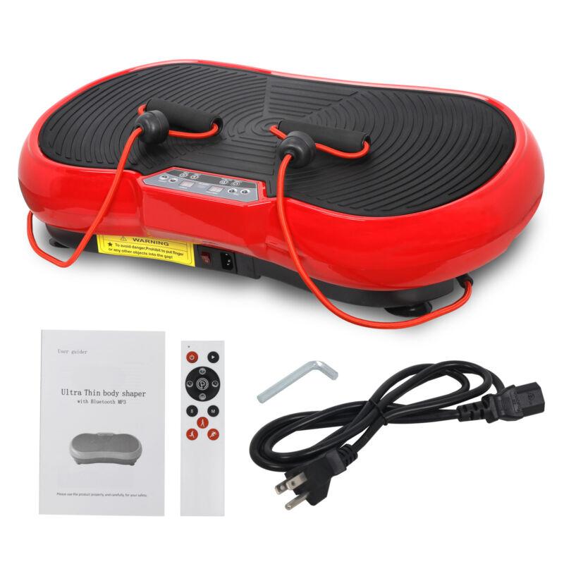 Body Vibration Machine Plate Platform Massager Fitness Slim with Bluetooth