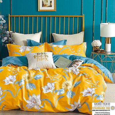 3tlg. Bettwäsche 160x200 Deckenbezug 70x80 Kissenbezug Schlafzimmer Garnitur