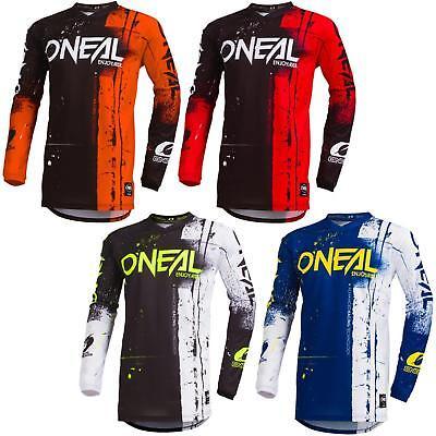O'Neal Element Shred Moto Cross MTB Jersey Enduro MX Trikot Mountain Bike DH FR