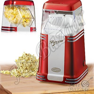 الة صنع الفشار جديد Hot Air Popcorn Popper Maker Machine Countertop Appliances Mini Kitchen Tool