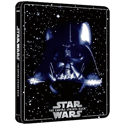 Star Wars - Empire Strikes Back  - 4K Blu Ray Steelbook - 3 Disc - Pre Order