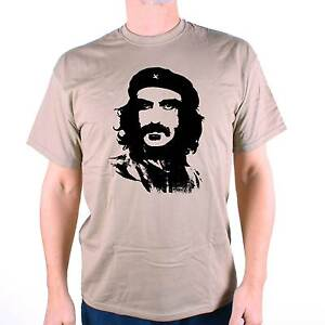 A-Tribute-To-Frank-Zappa-T-Shirt-Frank-Che-Guevara-Revolutionary-Design