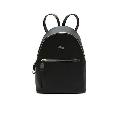 NWT Women's Black Lacoste Daily Classic Coated Pique Canvas Bag for sale  Shipping to India