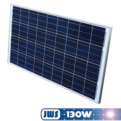 130w Solarpanel (Solarpanel Solarmodul 130Watt 130W 12V 12Volt Solarzelle Solar Polykristallin)