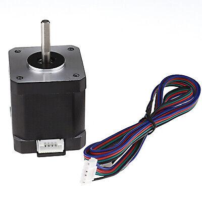 59ncm Nema 17 Stepper Motor 3d Pinter Reprap Cnc Robot 84oz.in 1m Cable