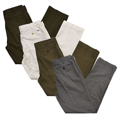 Polo Ralph Lauren Mens Classic Fit Stretch Chino Pants Casual Bottoms Slacks (Classic Fit Chino Pants)