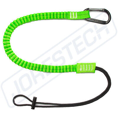 Tool Lanyard Shock Absorbing With Carabiner 15lbs Jorestech