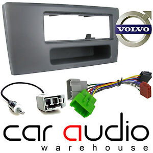 CT24VL02 Volvo V70 2000-2004 Car Stereo Single Din Fascia Panel Fitting Kit