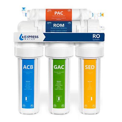 Undersink Reverse Osmosis - Water Filter System Reverse Osmosis Filtration Drinking Home Under Sink Purifier