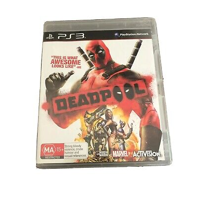 PS3 - Deadpool - Complete With Manual - VGC - Sony PlayStation 3 Marvel Game