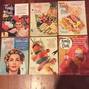 1950s FAMILY CIRCLE magazines