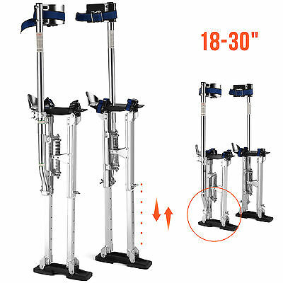 "18"" - 30"" Drywall Stilts Painters Walking Taping Finishing Tools Aluminum"