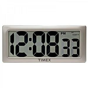 Large digital clock ebay Digital led wall clock