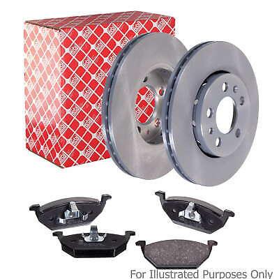 Fits Citroen Xantia 3.0 V6 Genuine Febi Front Vented Brake Disc & Pad Kit for sale  United Kingdom