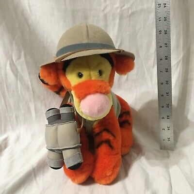 Vintage Walt Disney World Safari Winnie the Pooh & Safari Tigger plush
