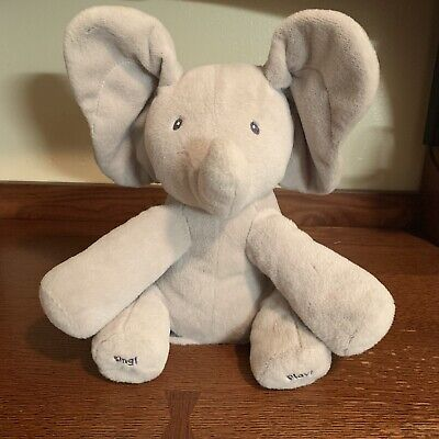 Gund Baby Animated Flappy The Elephant Plush Toy Peek A Boo Elephant 4053934