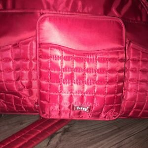 Red Lug diaper bag- like new.