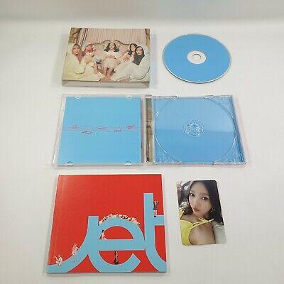 Red Velvet 2nd Mini Album The Velvet CD Booklet JOY photocard 1p K-POP Opened