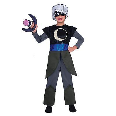 Kids PJ Masks Luna Girl Fancy Dress Costume Boys Girls Super Villain  - Luna Girl Kostüm