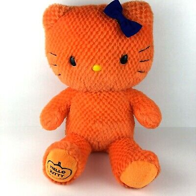Build a Bear Sanrio Plush Hello Kitty Halloween Pumpkin Orange - Hello Kitty Build A Bear Halloween