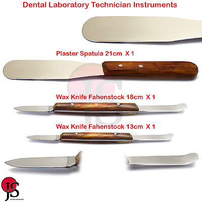 Dental Laboratory Mixing Spatula Plaster Alginate Carving Wax Knife Modeling Lab