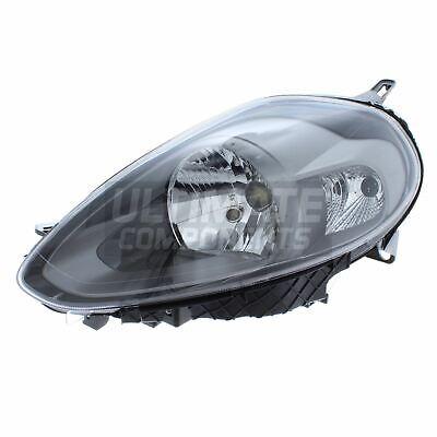 Xenons Online Fiat Punto Evo Hatchback /& Van 2010-2012 Front Fog Light Lamp Passenger Side N//S
