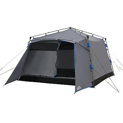 Familienzelt Sekundenzelt QEEDO Quick Villa 5 Mann Zelt mit Stehhöhe Hauszelt
