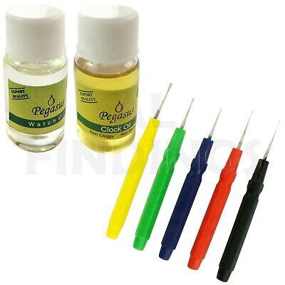 Juwelier Zubehör 10ml Uhr & Uhr Öl Schmierstoff Wartung 5 Öl Stifte Reparatur - Öl-stifte