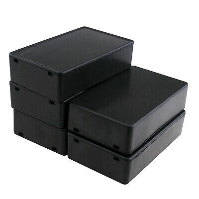5pcs Electronic Machine Project Box Diy Power Enclosure Instrument Terminal Case