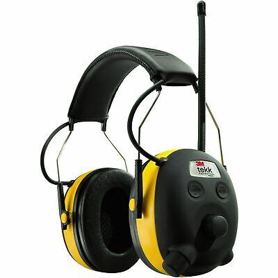 3m Worktunes Hearing Ear Protector Earmuff Mp3 Compatible W Amfm Radio Tuner