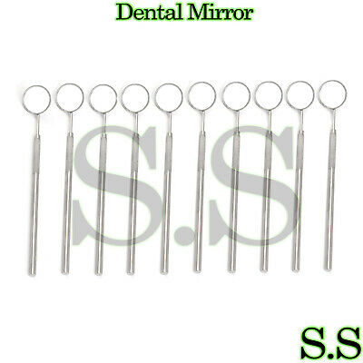 12 Pcs Dental Mouth Mirror 5 Whandle Dental Instrument