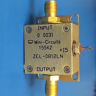 Mini-circuits Zel-0812ln Coaxial Low Noise Amplifier 800 Mhz To 1200 Mhz