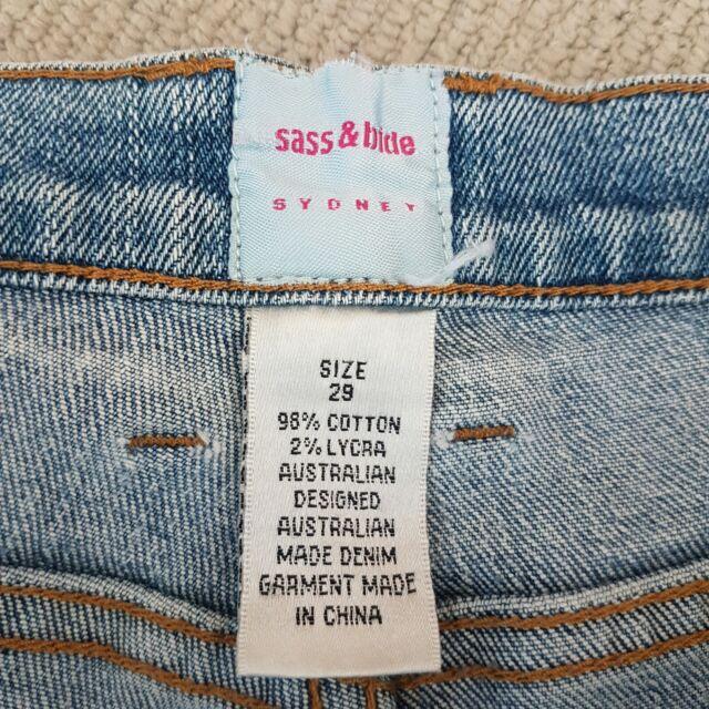 Sass And Bide Flare Jeans Pants Jeans Gumtree Australia Gold Coast North Coomera 1255285233