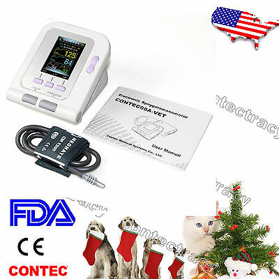 Vet Veterinary Tft Digital Blood Pressure Heart Beat Monitor Nibp Animal Useus